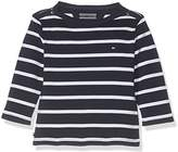 Tommy Hilfiger Baby Boys' Light Bn Knit L/S Long Sleeve Top