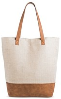 Merona Women's Tote Handbag Cream