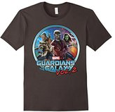 Marvel Guardians of Galaxy 2 Team Circle Graphic T-Shirt