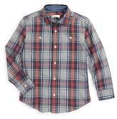 Tucker + Tate &Photo& Buffalo Plaid Woven Shirt (Toddler Boys, Little Boys & Big Boys)