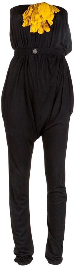 Lanvin Gathered waist jumpsuit