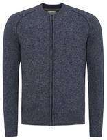George Bomber Zip Up Cardigan