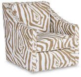 Michael Thomas Collection Baron Swivel Chair - Sand/Ivory