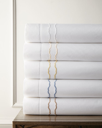 Sferra King Embroidered Percale Sham
