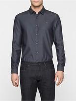 Calvin Klein Galen Indigo Fitted Shirt