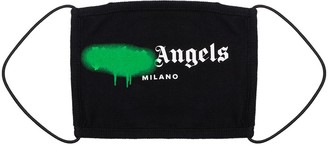 Palm Angels Paint Logo Face Mask