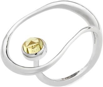 FARIS Saturn Semiprecious Stone Ring