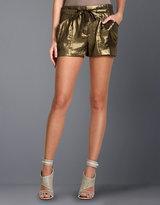 Sabina Metallic Shorts