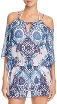 Becca by Rebecca Virtue Inspired Cold Shoulder Swim Cover-Up Tunic