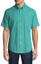 Brooks Brothers Val Barrel Cuffs Check Sportshirt