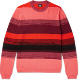 Ps By Paul Smith - Striped Textured-cotton Sweater