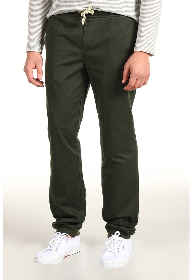 Lifetime Collective Sherpa Canvas Pant (Army Green) - Apparel