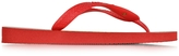 Charlotte Olympia Bruce Havaianas Ruby Red Rubber Flip Flop