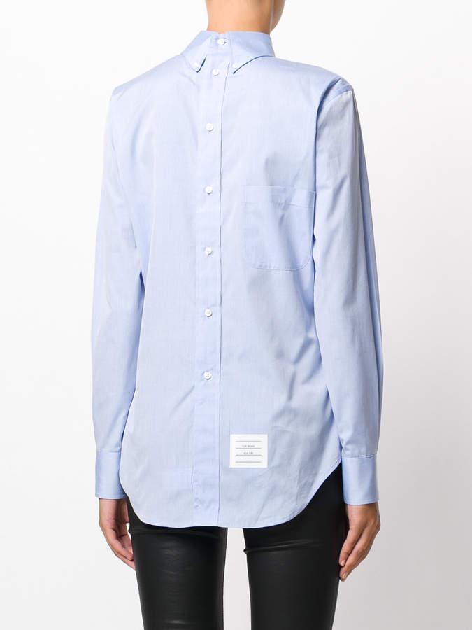 Thom Browne reversible shirt
