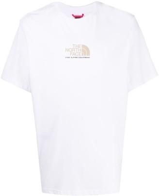 The North Face logo-print crew neck T-Shirt