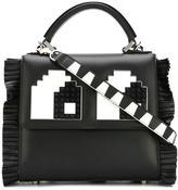 Les Petits Joueurs 'Eyes' cross-body bag - women - Calf Leather/Plastic - One Size