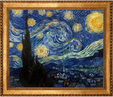 Overstock Art Starry Night By Van Gogh Oil Reproduction