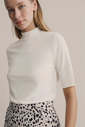 Witchery Turtle Neck Elbow Tee