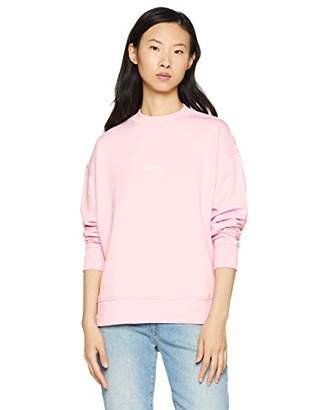 BOSS Women's Tastand Sweatshirt, (Bright Red 626), Large