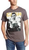 Zion Rootswear Men's Johnny Cash Studio (Charcoal) T-Shirt