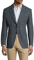 Tom Ford Wool Birdseye Notch Lapel Blazer