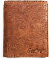 Rawlings Sports Accessories Cognac Rugged Leather Wallet