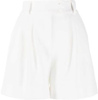 Styland Pleated Waist Shorts