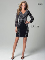 Lara Dresses - 32878 Dress In Black White