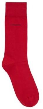 HUGO BOSS Regular-length socks in combed stretch cotton