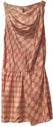 Hoss Intropia Ecru Silk Dress for Women