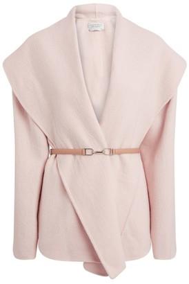 Gabriela Hearst Harris Cashmere Wrap Jacket