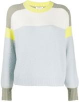 Rag & Bone colour block jumper