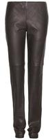 Bottega Veneta Leather Trousers