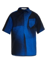 Balenciaga Spray-paint Cotton Shirt