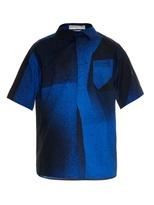 Balenciaga Spray-paint Cotton Shirt