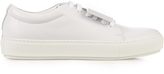 Acne Studios Adriana TurnUp patent-leather trainers