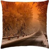 Gankering .Scenic Route of Christmas. - Throw Pillow Cover Case (18