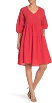MelloDay V-Neck Babydoll Dress