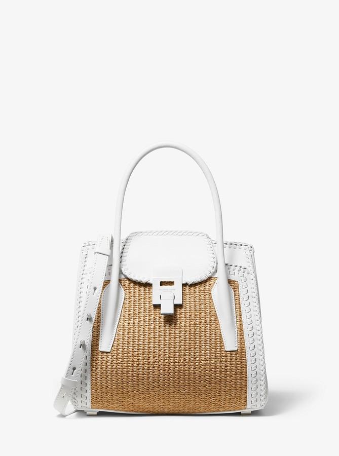 7f8c2e9cd Michael Kors White Handbags - ShopStyle