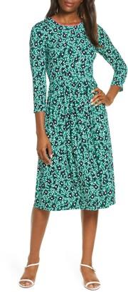 Eliza J Floral Print Knit Dress