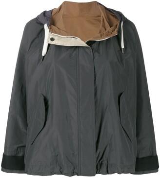 Brunello Cucinelli Hooded Lightweight Jacket