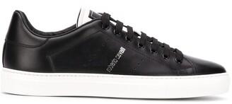 Roberto Cavalli Logo Print Low-Top Sneakers