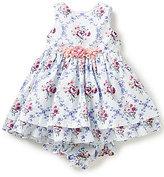 Laura Ashley London Baby Girls Newborn-24 Months Floral-Print Applique Dress