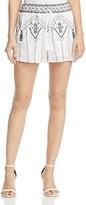 Aqua Embroidered Drawstring Shorts - 100% Exclusive