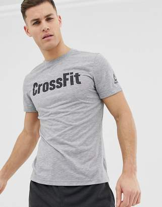 Reebok Crossfit Speedwick tshirt in grey