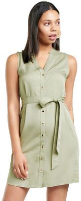 Forever New Harper Sleeveless Shirt Dress