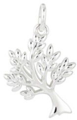Unwritten Fine Silver Plated Family Tree Charm