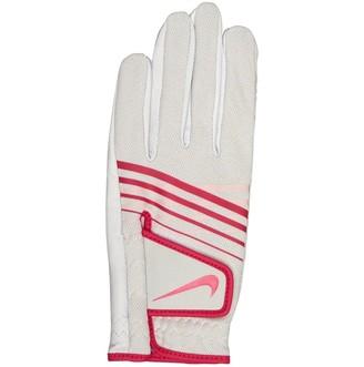 Nike Womens Summerlite III Left Hand Golf Glove Pearl White/Pearl White/Watermelon