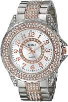 XOXO Women's XO5740 Analog Display Analog Quartz Watch