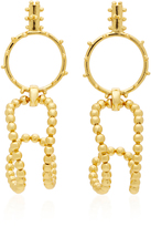 Paula Mendoza STBC Bubble 24K Gold-Plated Earrings